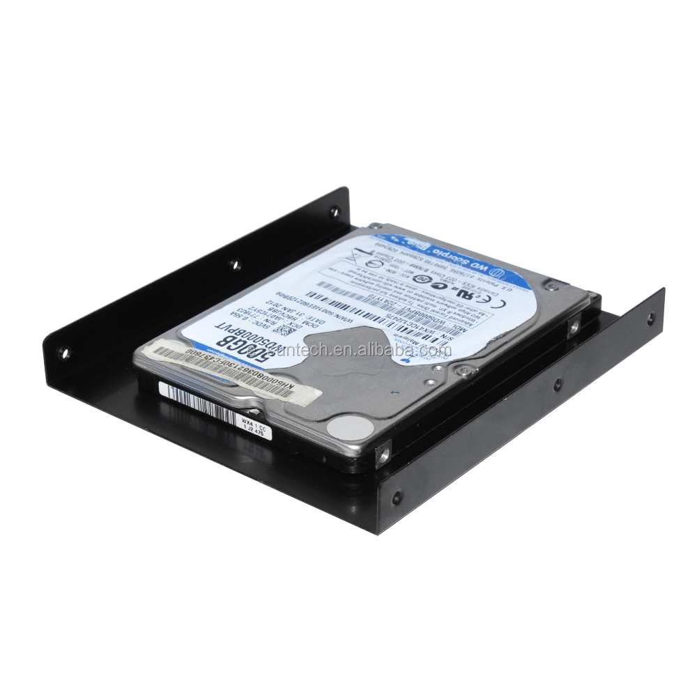 "Universal 2.5"" SSD HDD To 3.5"" SSD HDD mounting Adapter bracket Holder For Desktop PC"