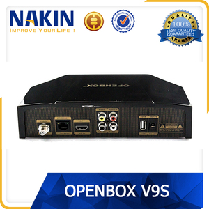 Genuine Openbox V9Siptv satellite receiver with dvb-s2 web tv usb wifi  cccam newcamd weather forecast