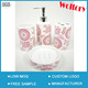 New style Ceramic 4pc set bathroom accessories/ Chinese retailer low price stock design Bath set
