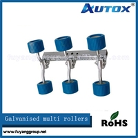 wobbly skid rollers for boat trailer