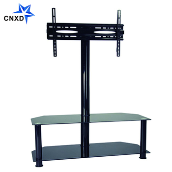 Tempered Black Glass With Metal Tube Tv Stands Buy Tv Stand