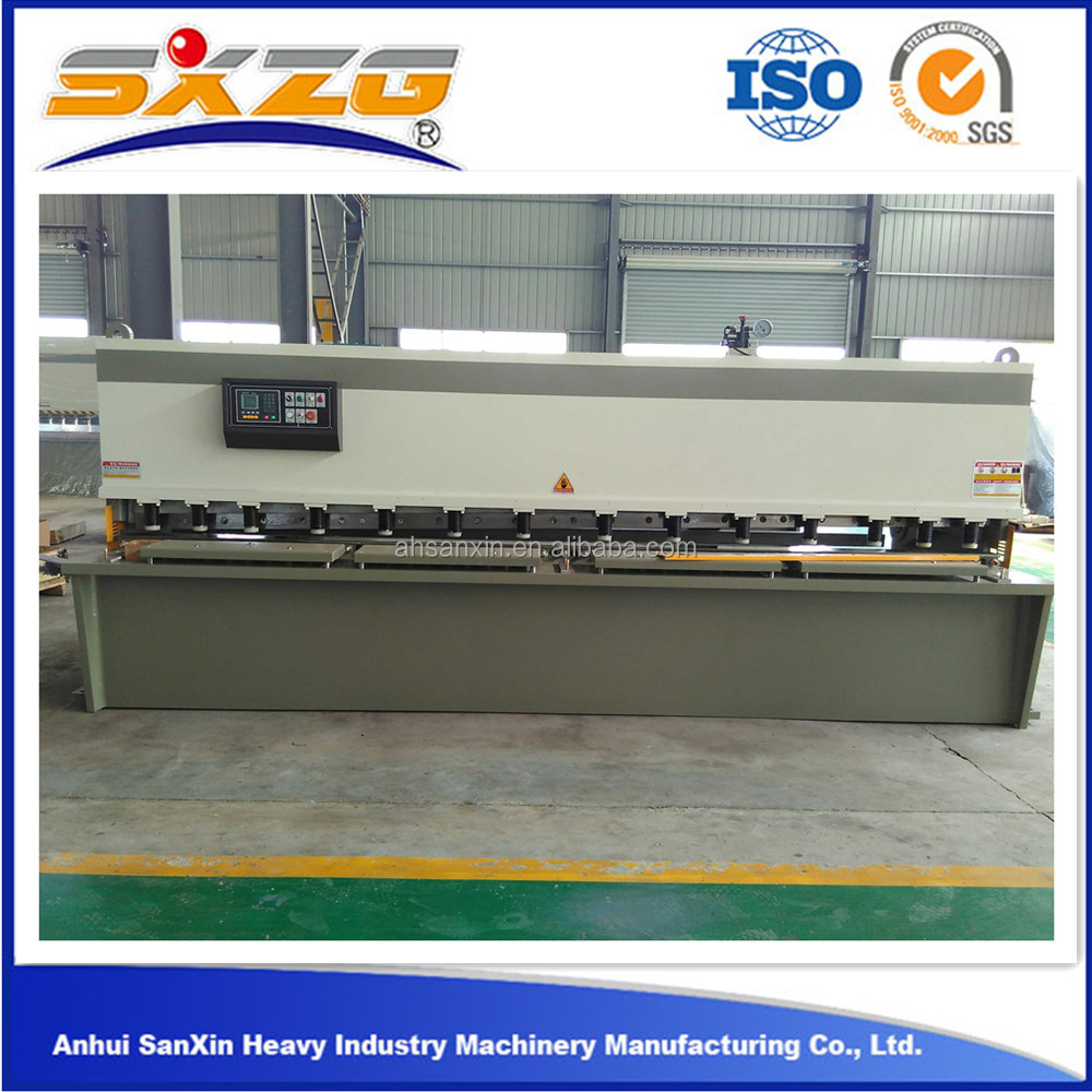 hydraulic 20mm steel used machine for cutting steel plate cutting machine 2015 new trendy products