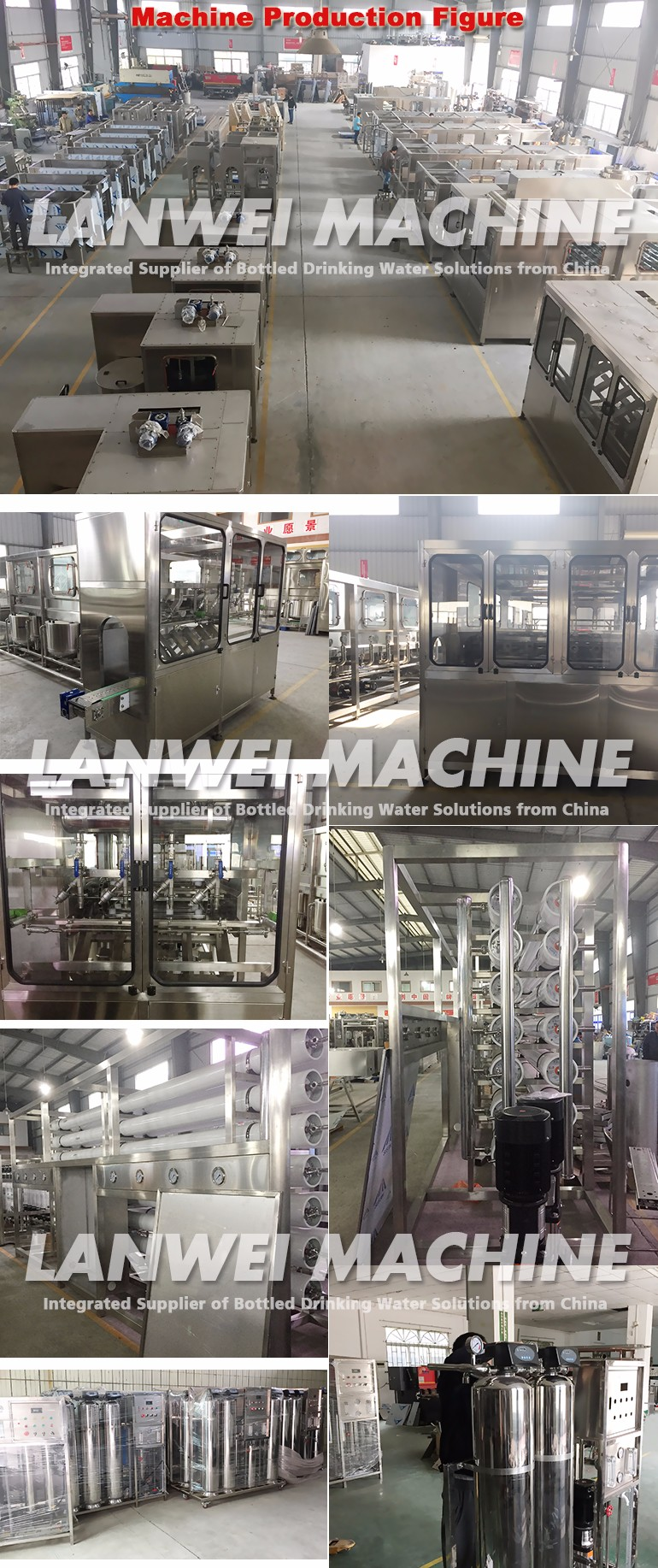 Water factory need water Filling Machine ro mineral water machine