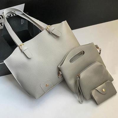 New Women/'s Bags Fashion Matte Leather Locomotive Big Bags Rivet Shoulder