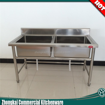 Restaurant Kitchenware restaurant kitchen sink stainless steel double bowl intended