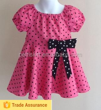 2015 New Design Fashion Baby Dresses Wholesale Girls 100% Cotton ...
