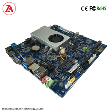 X86 industrial mini itx motherboard Support Intel Celeron N3150 Quad Core Processor for thin client mini pc and digital signage