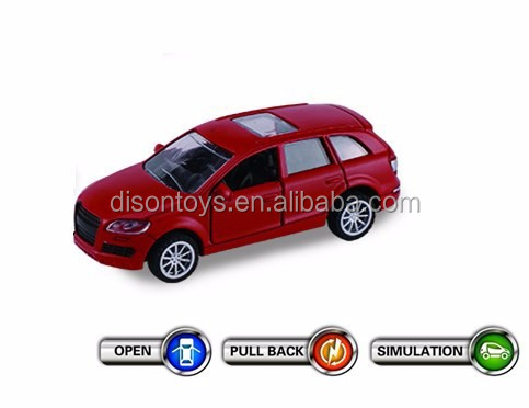Hot sale 1:64 metal pull back toy car for promotion