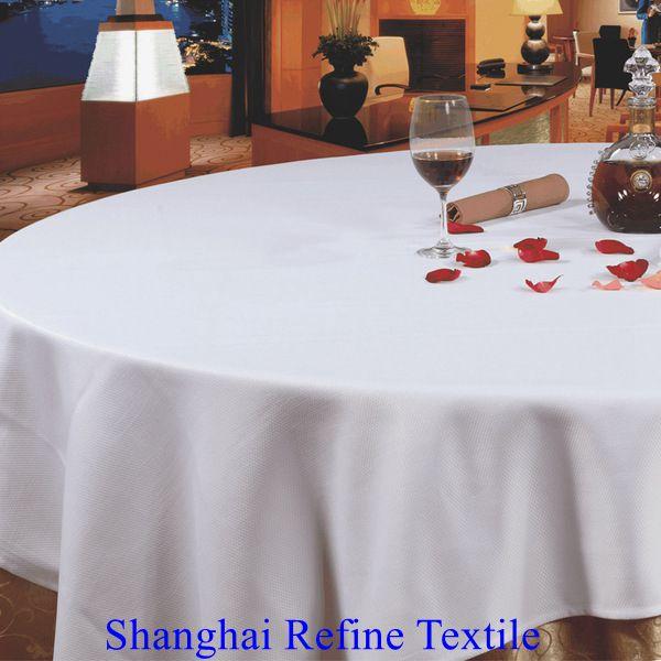 "1 restaurant wedding linen table cloths poly round 120/"""
