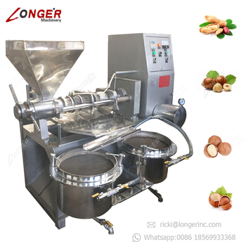 Cold Avocado Coconut Oil Extraction Rapeseed Soybean Palm Kernel Expeller Hemp Sunflower Sesame Seeds Peanut Oil Press Machine