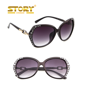 Story euro custom stickers logo new polar italy design sunglasses for women