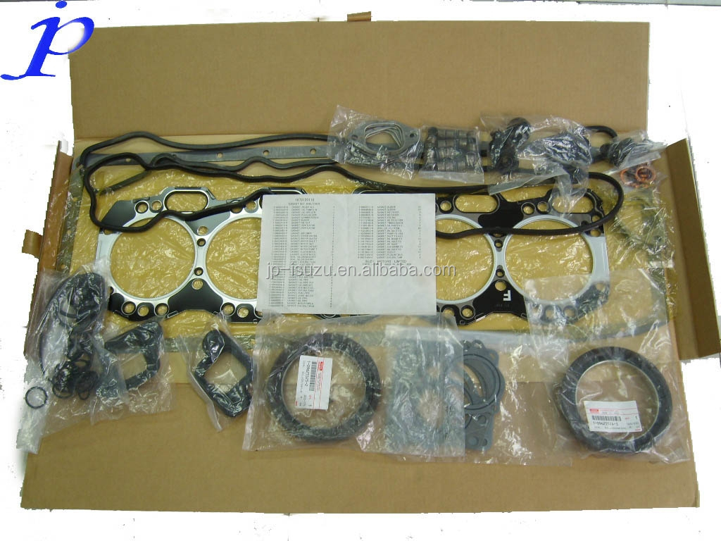 For Isuzu Auto Part,Engine Overhaul Gasket Kit 10p 4h 6h