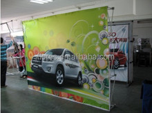 best selling size 3*4m aluminum dragnet display series