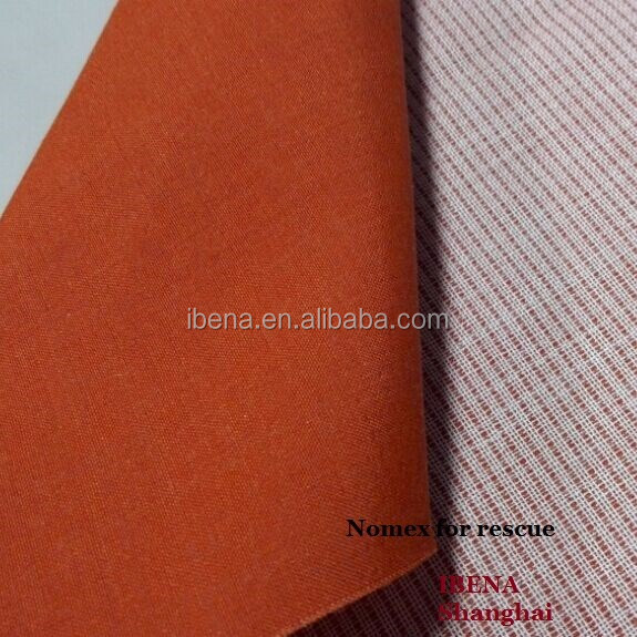orange Nomex fabric for polices, fire fighters