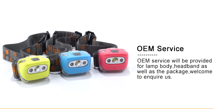 Wholesale Cheap Colorful 3W XPE+2 Red Outdoor Sports Lightweight And Comfortable Wearing Camping Led Headlamp