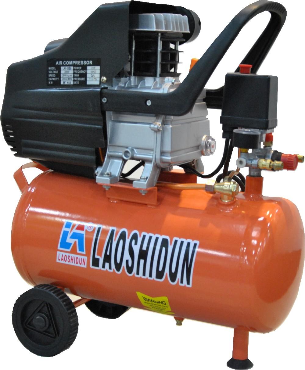 Made in china 2 5hp 24l screw air compressor direct driven oil lubrication portable atlas copco