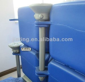 Pontoon, plastic pontoon floats for boats, hdpe floating pontoon
