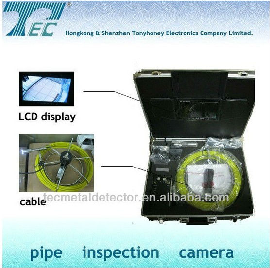 Endoscope/Borescope Pipe Inspection Camera,Tube inspection Camera with self-levelling camera