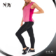 high quality new trend breathable polyester spandex dry fit zumba wholesale fitness