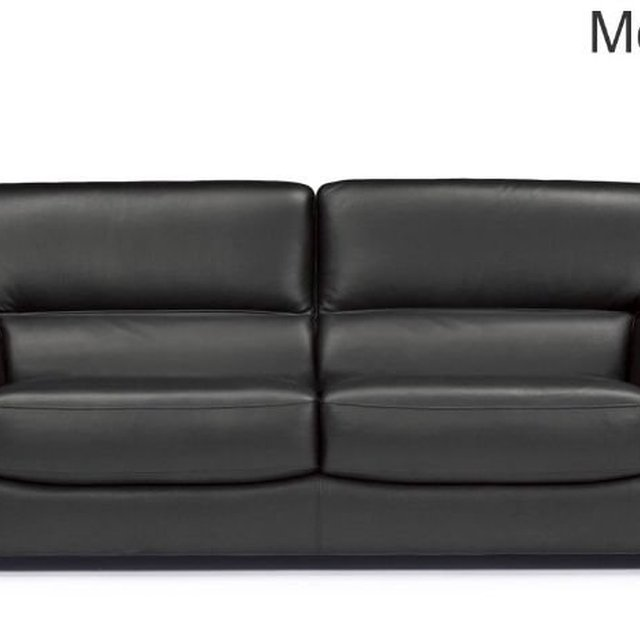 FKS AMG013 176 Leather Chesterfield Modern Sofa