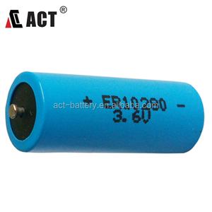 Good Quality 2/3 AAA ER10280 ACT Lithium Battery 1650 mAh /Operating Temp Range:-55C~+85C
