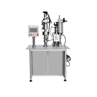 Professional aerosol equipment semi-automatic aerosol spray filling machine, crimping machine for aerosol cans