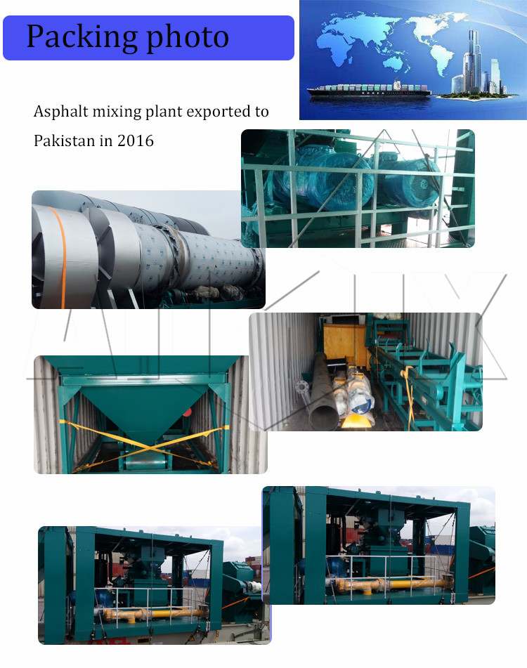 Asphalt plant drum motors asphalt mixture mixer for sale