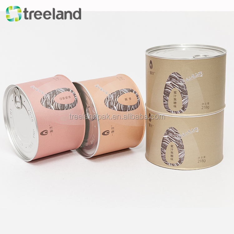 Custom Order Cylinder Cardboard Tube Coffee Packaging