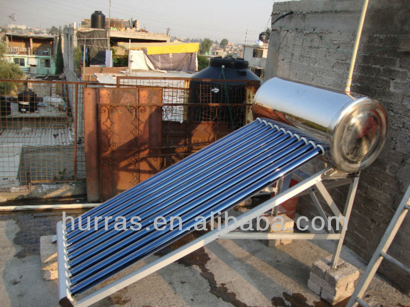 Solar Powered Water Heater Portable,Copper Pipe Solar Hot Water ...