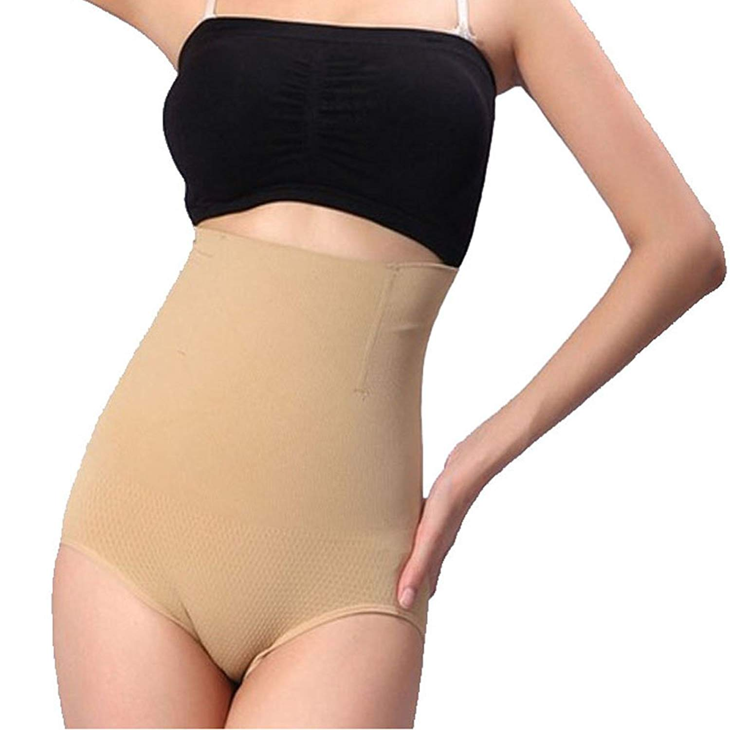 7558d0659d696 Get Quotations · BigEasyStores New You High Waist Slimming Underwear Body  Shaper Tummy Flattener Panty