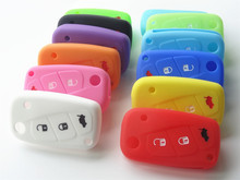 Silicone Car Key Case Cover for FIAT 500 3 buttons Luminous Panda Stilo Punto /Doblo /Grande /Bravo Ducato /Minibus