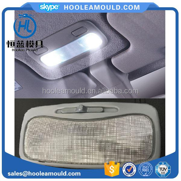 Automotive car room lamp cover housing plastic injection mould