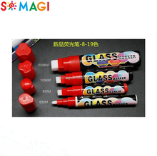 Colorful Cars Window Glass Markers for Led Black Board Pen