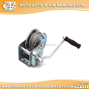 Hand Rotary Winch With Auto Friction Brake Hwc55a - Buy Hand Crank  Winches,Hand Operated Winches,Manual Hand Winch Product on Alibaba com