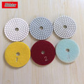 3 Step Stone Diamond Wet Angle Grinder Polishing Pad for Marble