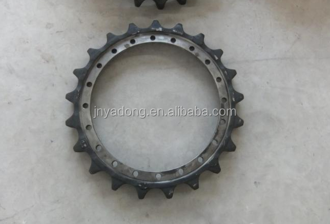 PC300-7 Excavator undercarriage spare parts 207-27-61210 drive sprocket
