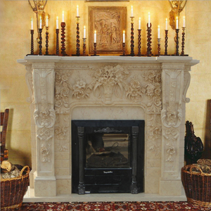 Terrific Carved Marble Fireplace Mantel Electric Fireplace For Sale Interior Design Ideas Tzicisoteloinfo