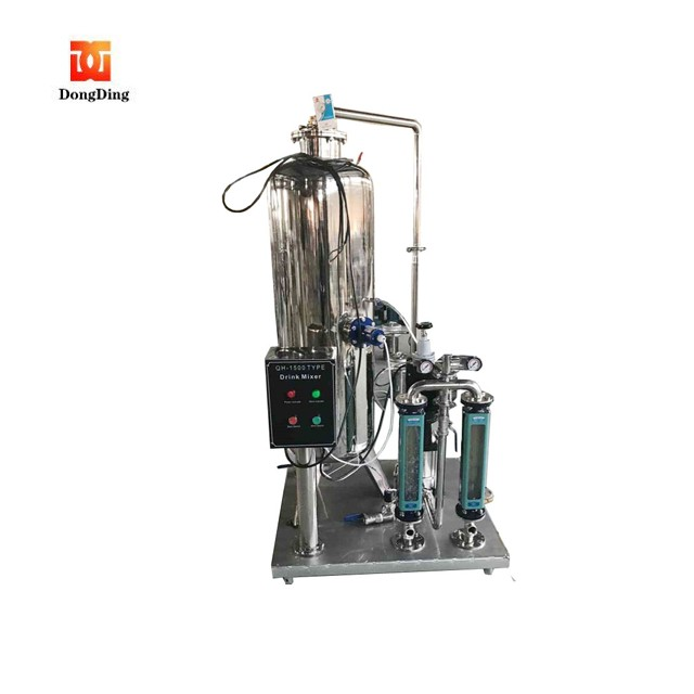 Low cost drinking water wine beverage mixer and filling machine with factory price