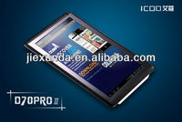 RK3066 dual core talbet Icoo D70pro II 7 Inch Tablet Capacitive Touch Screen 1024*768 Rockchip 1GB 8GB Android 4