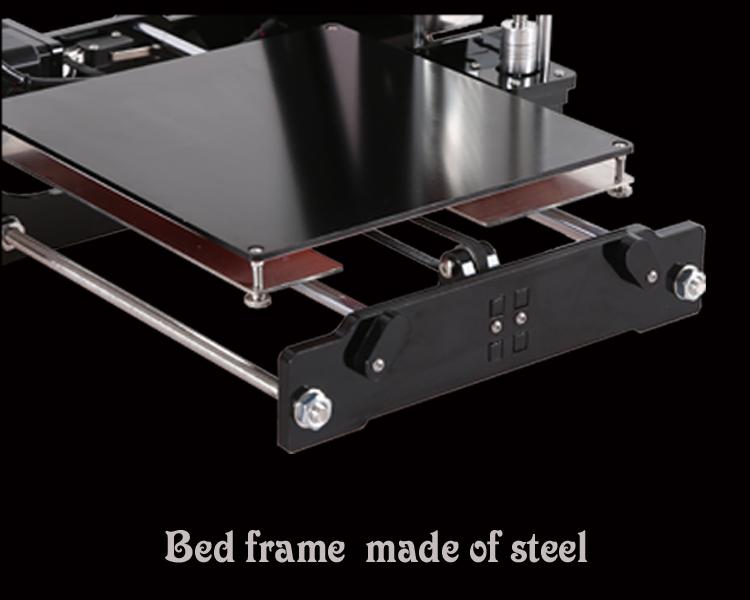 משלוח חינם באיכות גבוהה דיוק Reprap Prusa i3 DIY 3d מדפסת קיט עם 2 רול נימה 8GB SD ו-LCD 220*220*180mm