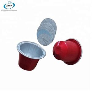 Hot Sale Aluminum Nespresso Cup Coffee Capsule And Foil Lids