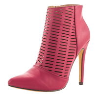 High quality China wholesale manufacturer ladies shoes women genuine leather shoes women ankle boots