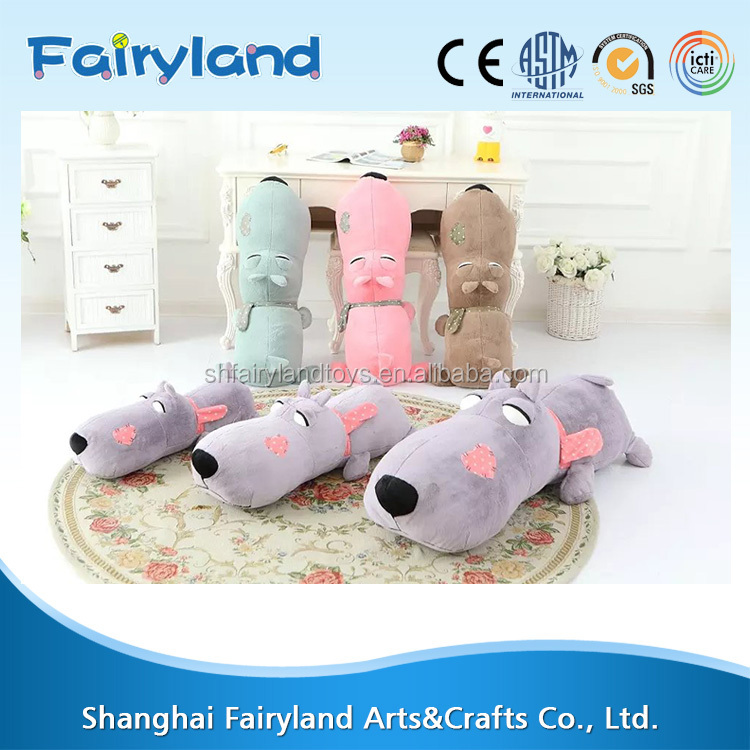 Online wholesale floppy dog plush toys, pp cotton stuffed plush toy, sleeping dog plush toy