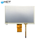 china modbus tft lcd 7 inch 4 wire resistive touch screen display panel for plc