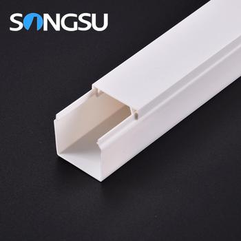 White Solid Gutter Cover