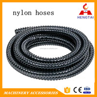 2016 Black Flexible corrugated water proof Nylon Hoses