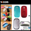 2015 Ricom best wireless travel mouse,2.4G wireless mouse for smart TV--MW8003--Shenzhen Ricom