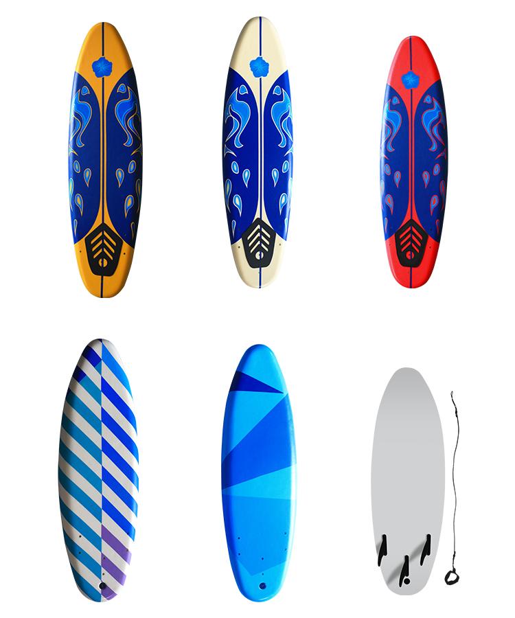 """Bset sale wholesale Surfing Board longboard leash 72"""" surfboard,surfingboard,xpe surfing board,soft surf board"""
