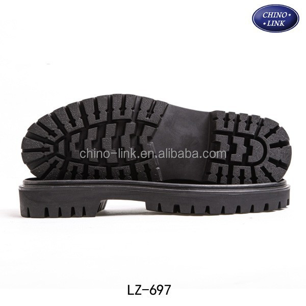 Low cost rubber material shoe sole manufacturers outsole for working shoe/boots
