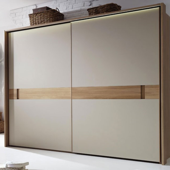 High Quality Modern Painted Glassbe Droom Diy Wardrobe Cabinet Sliding Door